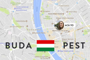 budapest mapa