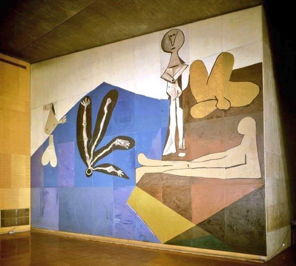 """🖼️ """"La caída de Icaro"""" (1958) 👨🏻🎨 #Picasso. DÉDALOS, ÍCARO Y EL ARTE"""